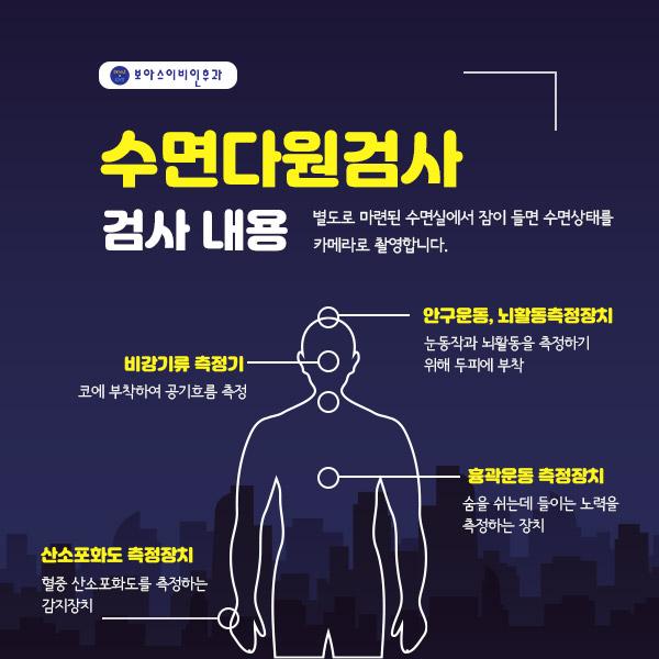 보아스이비인후과, 보아스약수본원,보아스, 수면다원검사, 양압기, 코골이, 수면무호흡증